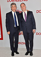 Alexander Payne &amp; Jim Taylor at the special screening of &quot;Downsizing&quot; at the Regency Village Theatre, Westwood, USA 18 Dec. 2017<br /> Picture: Paul Smith/Featureflash/SilverHub 0208 004 5359 sales@silverhubmedia.com