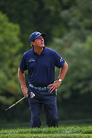 Phil Mickelson (USA) watches a ball inflight near the green on 7 during Rd3 of the 2019 BMW Championship, Medinah Golf Club, Chicago, Illinois, USA. 8/17/2019.<br /> Picture Ken Murray / Golffile.ie<br /> <br /> All photo usage must carry mandatory copyright credit (© Golffile   Ken Murray)