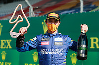 5th July 2020; Red Bull Ring, Spielberg Austria; F1 Grand Prix of Austria, Race Day; 4 Lando Norris GBR, McLaren F1 Team takes 3rd place