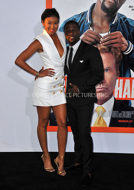WWW.ACEPIXS.COM<br /> <br /> March 25 2015, LA<br /> <br /> Eniko Parrish and Kevin Hart attending the premiere of 'Get Hard' at the TCL Chinese Theatre IMAX on March 25, 2015 in Hollywood, California.<br /> <br /> By Line: Peter West/ACE Pictures<br /> <br /> <br /> ACE Pictures, Inc.<br /> tel: 646 769 0430<br /> Email: info@acepixs.com<br /> www.acepixs.com