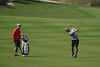 Guido Migliozzi (ITA) on the 17th during the Pro-Am of the Commercial Bank Qatar Masters 2020 at the Education City Golf Club, Doha, Qatar . 04/03/2020<br /> Picture: Golffile   Thos Caffrey<br /> <br /> <br /> All photo usage must carry mandatory copyright credit (© Golffile   Thos Caffrey)