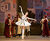Le Corsaire <br /> by Alexei Ratmansky of Petipa <br /> Bolshoi Ballet <br /> at The Royal Opera House, Covent House, London, Great Britain <br /> 11th August 2016 <br /> Rehearsal<br /> <br /> <br /> <br /> Yulia Stepanova as Medora<br /> <br /> <br /> <br /> <br /> Photograph by Elliott Franks <br /> Image licensed to Elliott Franks Photography Services
