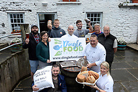 Members of the Dingle Food Festival pictured at DICK MACK&rsquo;S BREWHOUSE for the launch the 2017 Dingle Food Festival which will run from Friday 29th September up until Sunday 1st October, included are in front, Graham Murray and Cristina Ni Mhortain and at back, Aussie Barrett, Joan Maguire, Finn MacDonnell, Justin Burgess, Ron MacDonnell, Martin Bealin and Seamus Fitzgerald.<br /> Photo: Don MacMonagle<br /> <br /> repro   photo<br /> <br /> <br /> PRESS RELEASE:<br /> It Must Be Dingle!<br /> Members of the Dingle Food Festival committee gathered today at DICK MACK&rsquo;S BREWHOUSE, a newly opened micro brewery in the heart of Dingle town, to launch the 2017 Dingle Food Festival. The building, an old cowshed dating back over 150 years has been transformed into Ireland&rsquo;s newest brewery. The 2017 Dingle Food Festival will run from Friday 29th September up until Sunday 1st October.<br /> <br /> <br /> During the first weekend of October, the picturesque streets of Dingle come alive with over 70 different taste trail offerings. Over 50 Irish food stalls showcase and sample their produce at one of Ireland&rsquo;s largest food market offerings. There&rsquo;s wine, whiskey, and gin tastings, together with cider and craft beer trails. Add in live entertainment, kiddies events, cookery demos and food workshops and you truly do have a mouth watering festival.<br /> <br /> For the Taste Trail, festival goers purchase books of taste tickets to use on the festival&rsquo;s infamous taste trail, that run the streets of Dingle. Highlights this year include Dingle Salted Grass Beef Taco with Dingle Farmhouse Cream Cheese Dressing, by the Dingle Cookery School  and available at the Carol Cronin Gallery. The Marina Inn offers Seared King Scallops with Jack McCarthy's Kanturk Black Pudding &amp; Parsnip Puree. While Micilin Muc The Bacon &amp; Sausage Maker will be at Fitzgerald&rsquo;s Centra serving the Micilin Muc Brunch Pot. Or why not try a taste of West Cork with the Toonsbridge Buffalo Burger at The Dingle Bay Hotel.<br /> <br /> St. James Church (Home to another great Dingel Festival, Oth