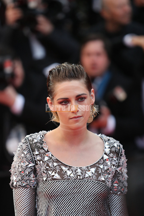 "Cannes Film Festival 2018 - 71st edition - Day 7 - May 14 in Cannes, on May 14, 2018; Screening of the film ""BlacKkKlansman"";   Kristen Stewart, US actress. © Pierre Teyssot / Maxppp"