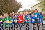 Ready for the take off in the 3km fun run organised by Scoil Mhuire agus Naomh Treasa in Currow last week.