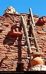 Terrace Ladder, Hopi House, Mary Colter 1905, South Rim, Grand Canyon, Arizona