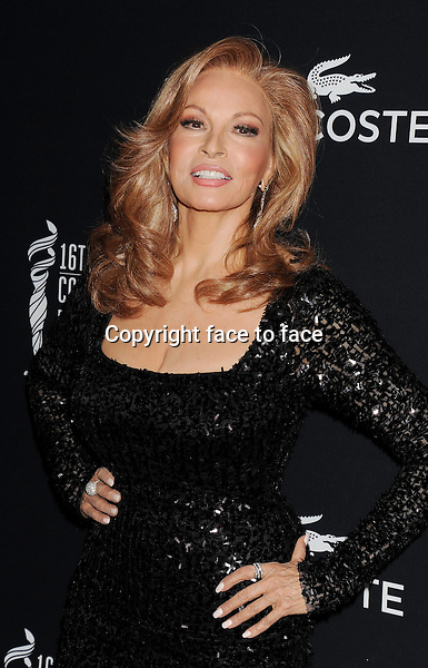 BEVERLY HILLS, CA- FEBRUARY 22: Actress Raquel Welch arrives at the 16th Costume Designers Guild Awards at The Beverly Hilton Hotel on February 22, 2014 in Beverly Hills, California.<br /> Credit: Mayer/face to face<br /> - No Rights for USA, Canada and France -