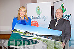 LIAM'S LODGE: Miriam O'Callghan and Tony Heffernan (The Saoirse Foundation) launching Liam's Lodge Ireland's 1st national respite centre for genetic and rare disorders at Blennerville on Friday.