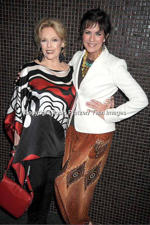 "Eileen Fulton and Colleen Zenk attend the screening of new documentary ""Soap Life"" on September 4, 2012 at the Sunshine Landmark Theatre in New York City."