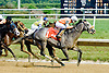 Win Willy winning The Cape Henlopen Stakes at Delaware Park on 6/28/12