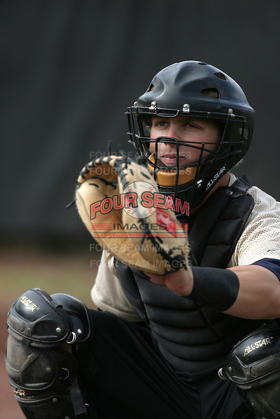 July 8 2009: Dallas Tarleton of the Tri City Dust Devils before game against the Salem-Kaizer Volcanoes at Volcano  Stadium in Kaizer,OR.  Photo by Larry Goren/Four Seam Images