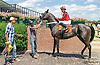 Shaikha winning at Delaware Park on 7/22/15