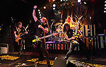 Stryper performs on their 25th anniversary tour at Bourbon Street Nightclub in New Port Richey on Saturday, October 24, 2009. (Photo by Frederick Breedon)