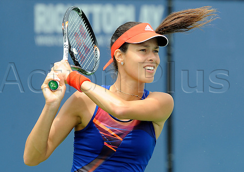 31.07.2013.la Costa Country Club, Carlsbad, California, USA.  Ana Ivanovic (SRB) during a match against Dominika Cibulkova (SVK) during the Southern California Open played at the La Costa Resort & Spa in Carlsbad CA.