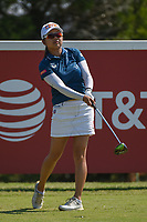 Wei-Ling Hsu (TPE) watches her tee shot on 12 during the round 3 of the Volunteers of America Texas Classic, the Old American Golf Club, The Colony, Texas, USA. 10/5/2019.<br /> Picture: Golffile   Ken Murray<br /> <br /> <br /> All photo usage must carry mandatory copyright credit (© Golffile   Ken Murray)