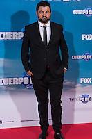 """Spanish actor Andoni Agirregomezkorta during the premiere of """"Cuerpo de Elite"""" at Capitol cinema. Madrid. August 25, 2016. (ALTERPHOTOS/Rodrigo Jimenez) /NORTEPHOTO"""