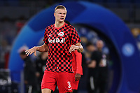 Erling Braut Haland of FC Salzburg  during the warm up<br /> Napoli 05-11-2019 Stadio San Paolo <br /> Football Champions League 2019/2020 Group E<br /> SSC Napoli - FC Salzburg<br /> Photo Cesare Purini / Insidefoto