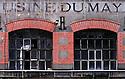 27/01/07 - THIERS - PUY DE DOME - FRANCE - La Vallee des Usines. Usine Du May - Photo Jerome CHABANNE
