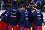 Turkish Airlines Euroleague.<br /> Final Four - Vitoria-Gasteiz 2019.<br /> Semifinals.<br /> CSKA Moscow vs Real Madrid: 95-90.