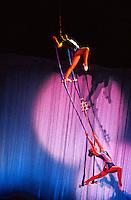 Acrobatic performance, Shanghai Centre, Shanghai, China