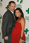 HOLLYWOOD, CA. - February 19: Actress Bahar Soomekh and husband Clayton arrive at Global Green USA's 6th Annual Pre-Oscar Party held at Avalon Hollwood on Februray 19, 2009 in Hollywood, California.