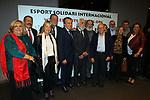 XIV Sopar Solidari de Nadal.<br /> Esport Solidari Internacional-ESI.<br /> Josep Maldonado  &amp; la familia Matas al completo.