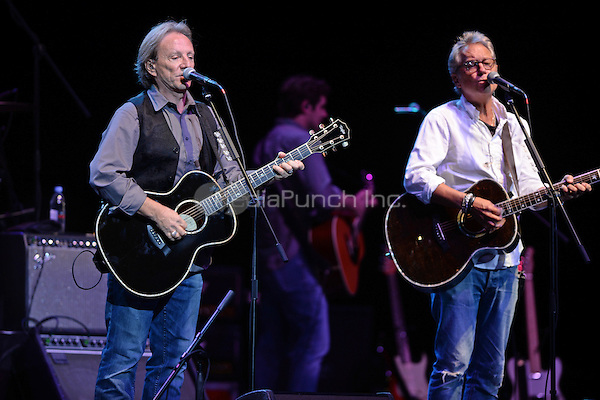 HOLLYWOOD FL - NOVEMBER 12: Dewey Bunnell and Gerry Beckley of America perform at Hard Rock Live held at the Seminole Hard Rock Hotel & Casino on November 12, 2015 in Hollywood, Florida. Credit: mpi04/MediaPunch