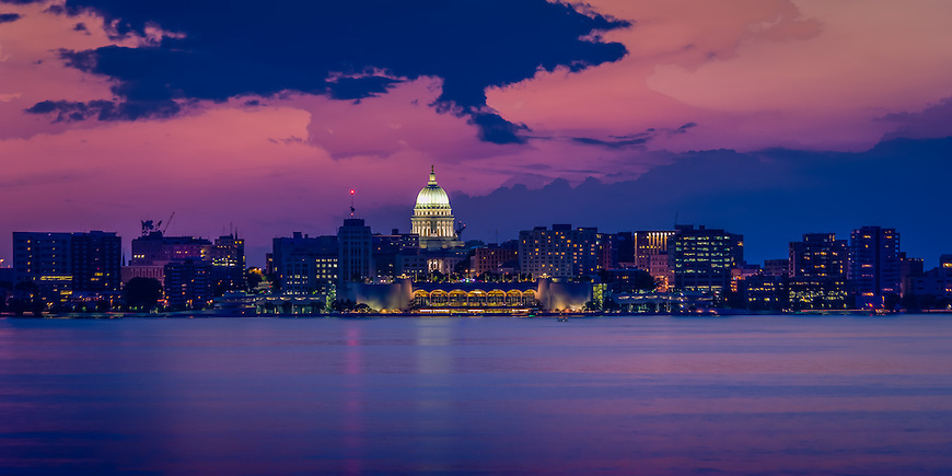 madison wisconsin skyline michael knapstein photography