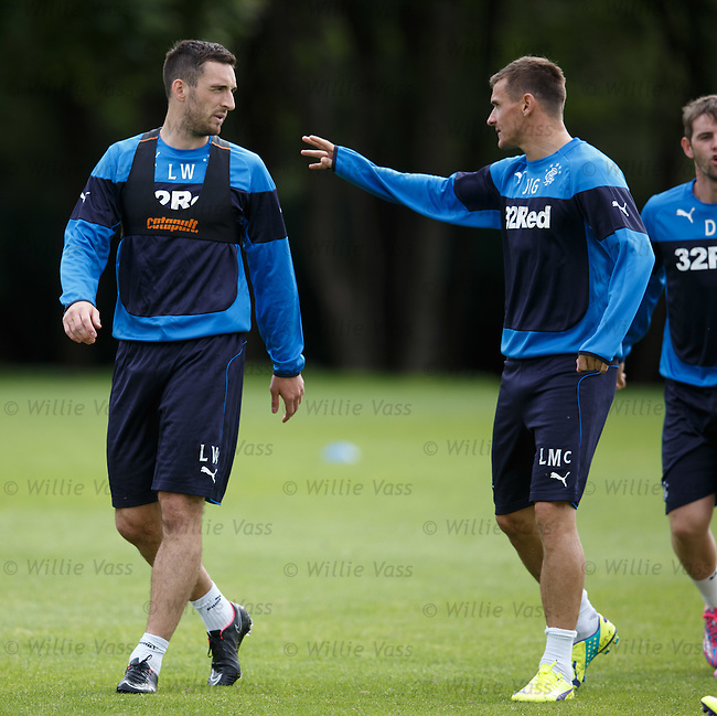 Lee Wallace and Lee McCulloch