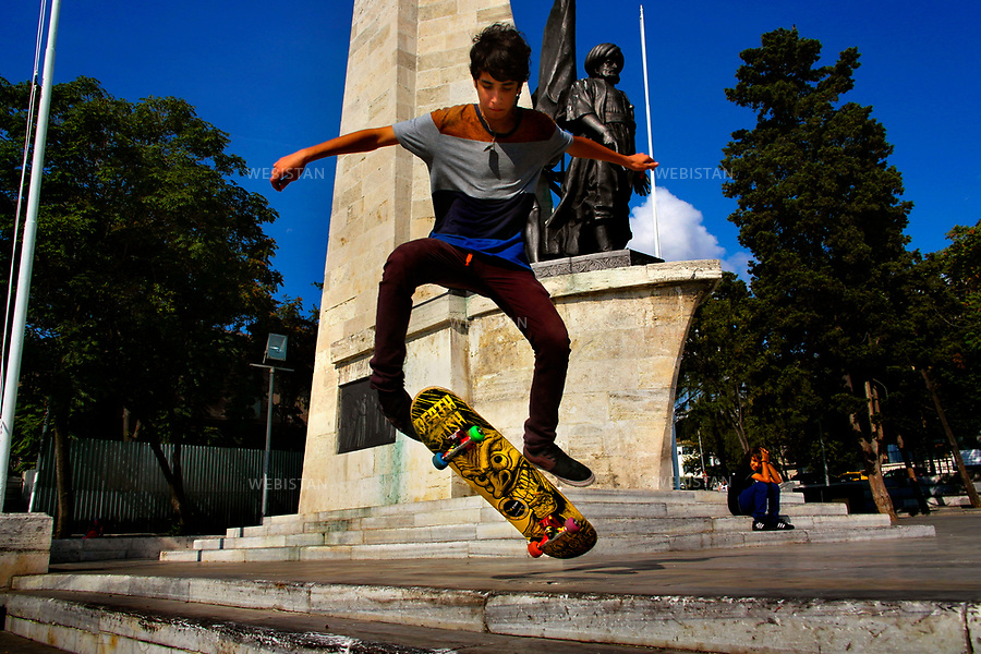 Turkey, Istanbul, Besiktas District, Barbaros Square, October 6, 2012