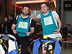 Declan Browning and Ciaran Doyle who took part in the 12 hour Spinathon in Scotch hall. Photo:Colin Bell/pressphotos.ie