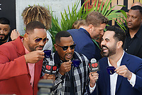 MIAMI, FL - JANUARY 12: Will Smith, Martin Lawrence and Enrique Santos of iHeartLatino at the Bad Boys For Life Miami Premiere at the Regal South Beach Theater in Miami, Florida on January 12, 2020. <br /> CAP/MPI140<br /> ©MPI140/Capital Pictures