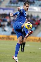 Getafe's Alberto Lopo during La Liga match.December 15,2012. (ALTERPHOTOS/Acero) /NortePhoto