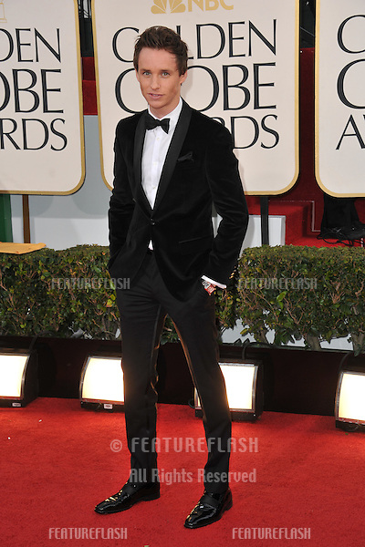 Eddie Redmayne  at the 70th Golden Globe Awards at the Beverly Hilton Hotel..January 13, 2013  Beverly Hills, CA.Picture: Paul Smith / Featureflash