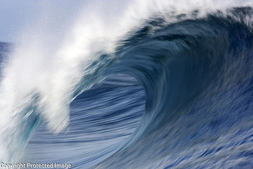 Surfers in Tahiti/2