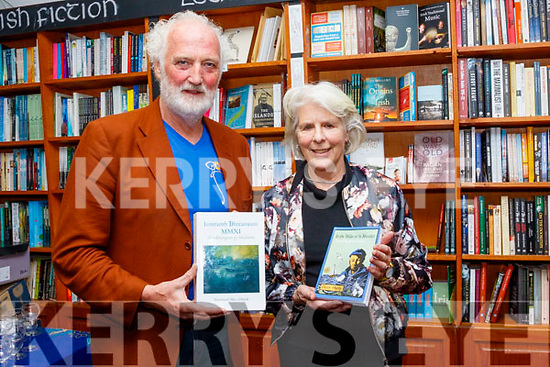 Breanndán Ó Beaglaoich launched the book, In the Wake of St Brendan, from Dingle to Iceland by the late Danny Sheehy and translated by Camilla Dinkel at the official launch last Saturday evening in the Dingle bookshop, Green street, Dingle.
