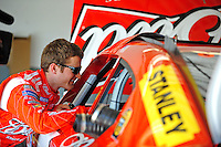 Feb 07, 2009; Daytona Beach, FL, USA; NASCAR Sprint Cup Series driver Kasey Kahne during practice for the Daytona 500 at Daytona International Speedway. Mandatory Credit: Mark J. Rebilas-