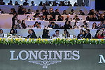 The Masters Club at the Hong Kong Jockey Club Trophy  during the Longines Masters of Hong Kong at the Asia World Expo on 09 February 2018, in Hong Kong, Hong Kong. Photo by Diego Diego Gonzalez / Power Sport Images
