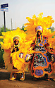 Mardi Gras Indians in Lower Ninth Ward, 2006