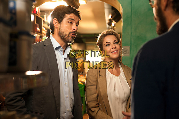 Alessandro Gassman, Claudia Gerini<br /> in Tutta colpa di Freud (2014) <br /> *Filmstill - Editorial Use Only*<br /> CAP/NFS<br /> Image supplied by Capital Pictures