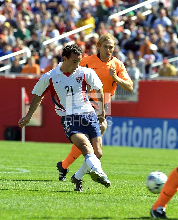 Landon Donovan,Holland vs. USA, 2002.