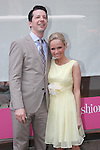 Promises Promises' Kristin Chenoweth and Sean Hayes at Lord & Taylor on 5/14/2010. Photo by Lia Chang