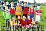 Kenmare runners at the Kerry Cross Country championships in Firies on Sunday front row l-r: Neal O'shea, robbie Guest, Roy Daly, David Byrne, Dylan Treyvaud. Back row: Colm Kelliher, Cathal Kelliher, Jack O'Sullivan, Charlie Guest, Kieran and Seamus O'Donoghue