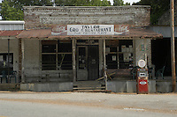 Legendary juke joint Club Ebony where B.B. King has played for over 40 years in Indianola Mississippi and other iconic Delta places including Taylor's Grocery. Photo©Suzi Altman