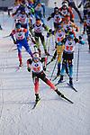 15/12/2019, Hochfilzen, Austria. Biathlon World Cup IBU 2019 Hochfilzen.<br /> Men 4 X 7.5 km Relay race,  Start