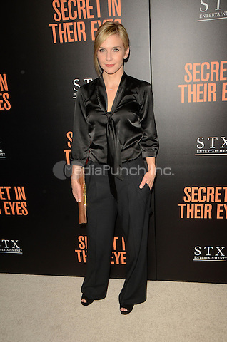 Rhea Seehorn at the Secret In Their Eyes LA Premiere at the Hammer Museum in Westwood, California on November 11, 2015. Credit: David Edwards/MediaPunch