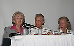 Diana Sowle, Bob Hastings, Rosemary Rice at 4th Annual Mid-Atlantic Nostalgia Convention in Aberdeen, Maryland. (Photo by Sue Coflin/Max Photos)