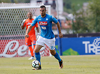 Nikola Maksimovic  of Napoli during a preseason friendly soccer match against Aunania in Dimaro's Stadium   12 July 2017