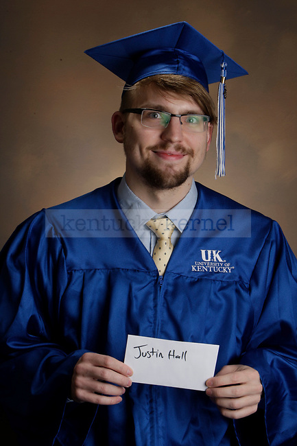 Hall, Justin photographed during the Feb/Mar, 2013, Grad Salute in Lexington, Ky.