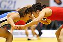 (L to R) Seiko Yamamoto, Kaori Icho, December 23, 2011 - Wrestling : All Japan Wrestling Championship, Women's Free Style -63kg at 2nd Yoyogi Gymnasium, Tokyo, Japan. (Photo by Daiju Kitamura/AFLO SPORT) [1045]